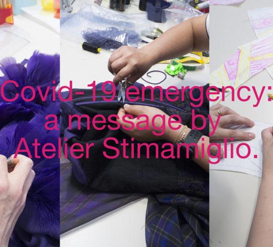 Emergenza Covid-19 Atelier Stimamiglio